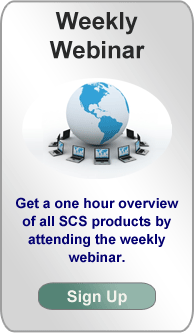 Check out the weekly webinar for SCS products